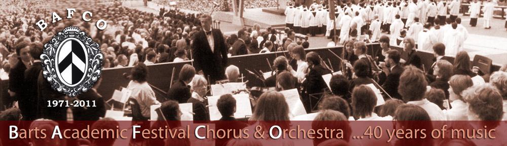Barts Academic Festival Choir & Orchestra